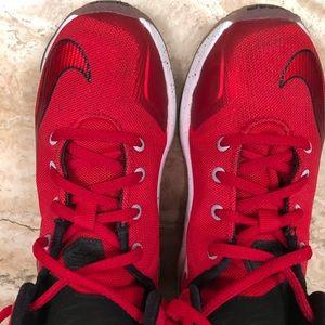 Kids Size 13C Nike LeBron James basketball shoes
